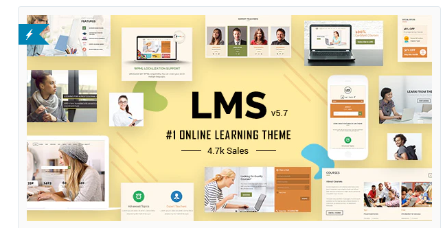 LMS WordPress Theme Nulled