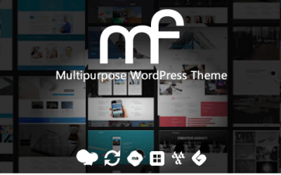 You are downloading MF - Multipurpose WordPress Theme whose current version has been getting more updates nowadays, so, please