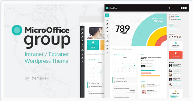 Download Micro Office | Extranet & Intranet WordPress Theme Nulled