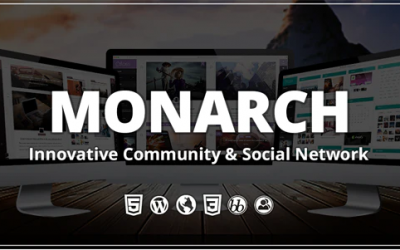 You are downloading Monarch - Innovative WordPress Community Theme whose current version has been getting more updates nowadays, so, please