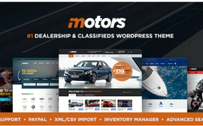 ou are downloading Motors - Car Dealer and Rental, Classified WordPress theme whose current version has been getting more updates nowadays, so, please