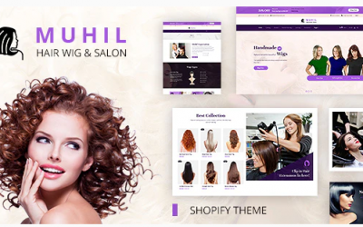 You are downloading Muhil | Hair Wig & Hair Salon Shopify Theme whose current version has been getting more updates nowadays, so, please