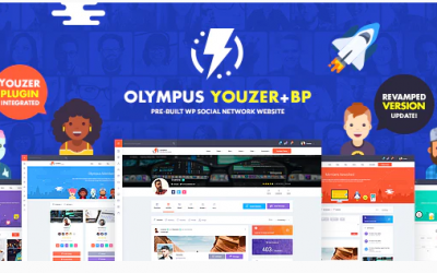 You are downloading Olympus - Powerful BuddyPress Theme for Social Networking whose current version has been getting more updates nowadays, s
