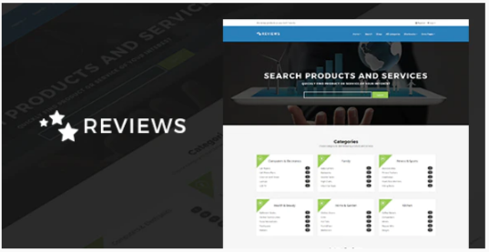 Download Reviews – Products And Services Review WP Theme Nulled