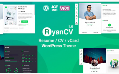 You are downloading RyanCV Resume/CV/vCard Theme whose current version has been getting more updates nowadays, so, please keep