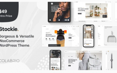 You are downloading Stockie - Multi-purpose Creative WooCommerce Theme whose current version has been getting more updates nowadays, so, please