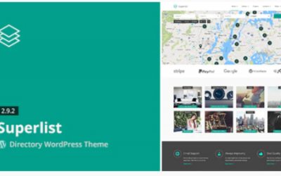 You are downloading Superlist - Directory WordPress Theme whose current version has been getting more updates nowadays, so, please