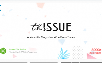 You are downloading The Issue - Versatile Magazine WordPress Theme whose current version has been getting more updates nowadays, so, please