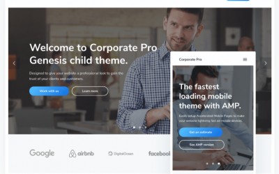 Download Corporate Pro Theme Package Nulled Theme | Nulled