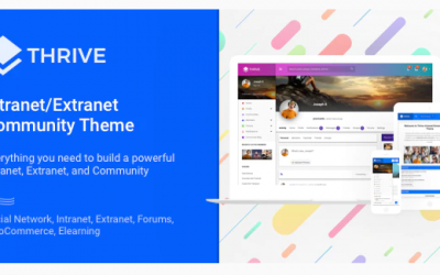 You are downloading Thrive - Intranet/Extranet/Community WordPress Theme whose current version has been getting more updates nowadays, so, please