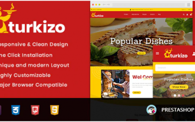 You are downloading Turkizo - Food Store Prestashop 1.7 Responsive Theme whose current version has been getting more updates nowadays, so, please