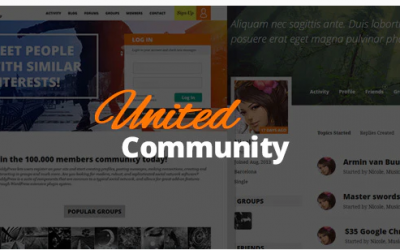 You are downloading UnitedCommunity - BuddyPress Membership Theme current version has been getting more updates nowadays, so, please