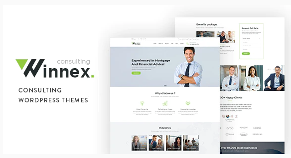 Download Winnex – Business Consulting WordPress Themes Nulled