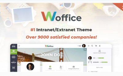 You are downloading Woffice - Intranet/Extranet WordPress Theme whose current version has been getting more updates nowadays, so, please