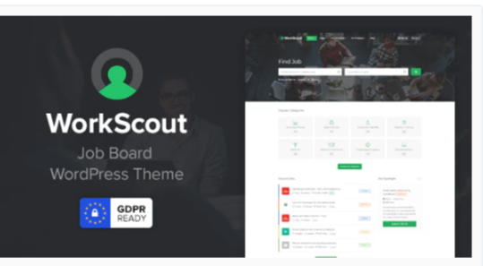 Download WorkScout – Job Board WordPress Theme Nulled