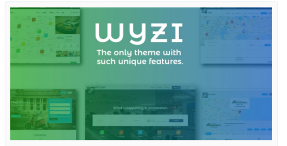 Download Wyzi – Business Finder and Service Provider Booking WordPress Social Look Directory Listing Theme Nulled