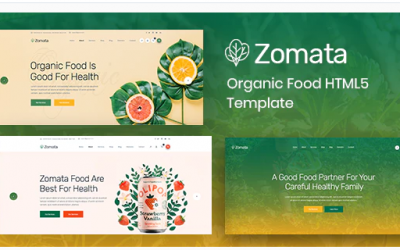 You are downloading Zomata - Organic Food HTML5 Template whose current version has been getting more updates nowadays, so, please