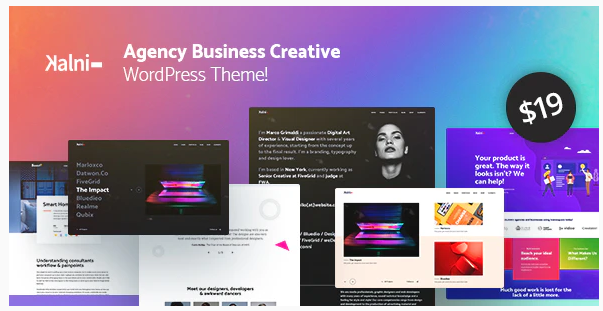 Kalni - Agency Business Creative WordPress Theme Nulled