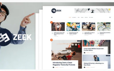 You are downloading Zeek - A Clean WordPress Blogging / Magazine Theme whose current version has been getting more updates nowadays, so, please