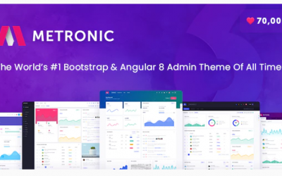 Metronic - Responsive Admin Dashboard Template Nulled