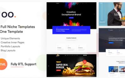 Joo - Niche Multi-Purpose HTML Template Nulled