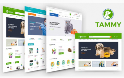 Tammy - Pet Care Shopify Theme Nulled