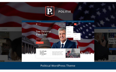 Politix - Political Campaign WordPress Theme Nulled