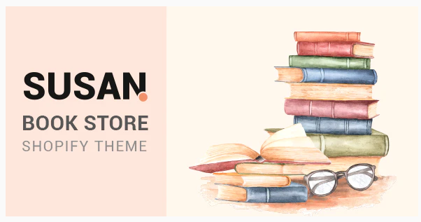 Susan - Book Store Shopify Theme Nulled