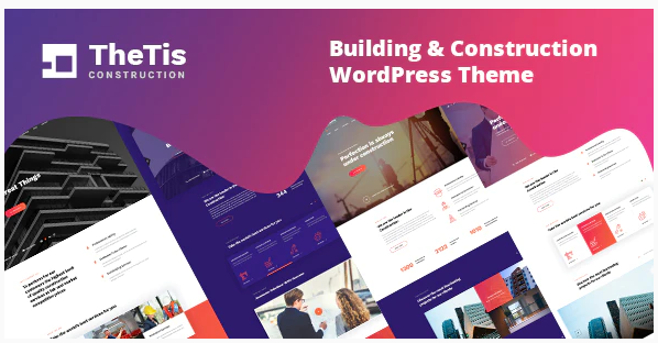 TheTis – Construction & Architecture WordPress Theme Nulled