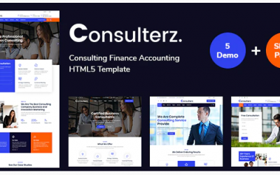 Consulterz - Consulting Finance Accounting Nulled
