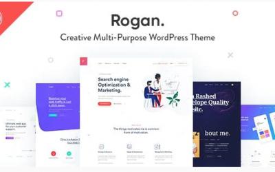 Rogan - Creative Multipurpose WordPress Theme for Agency, Saas, Portfolio Nulled