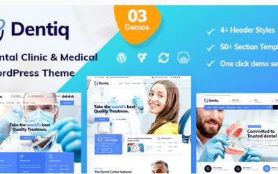 Dentiq - Dental & Medical WordPress Theme Nulled