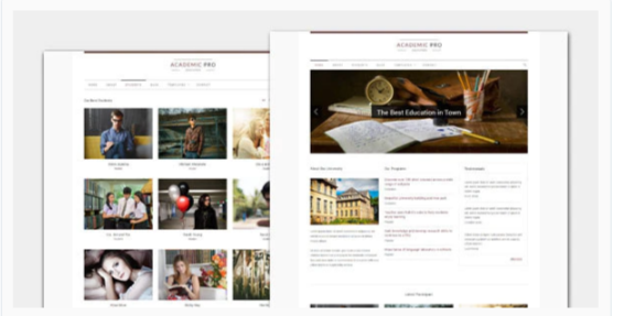 Download Academic – Modern Education WordPress Theme Nulled