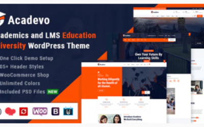 ou are downloading Acadevo - Academics and Education LMS WordPress Theme Nulled whose current version has been getting more updates nowadays, so, please