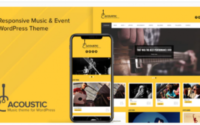 You are downloading Acoustic - Premium Music WordPress Theme Nulled whose current version has been getting more updates nowadays, so, please