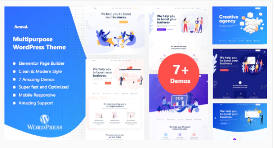 Download Aemal – Startup Business Theme Nulled
