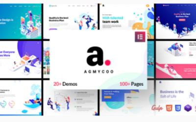 You are downloading Agmycoo - Isometric Startup Creative Digital Agency WordPress Theme Nulled whose current version has been getting more updates