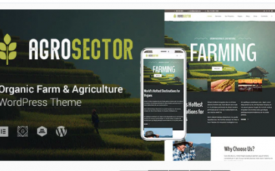 You are downloading Agrosector - Agriculture & Organic Food Nulled whose current version has been getting more updates nowadays, so, please keep visiting