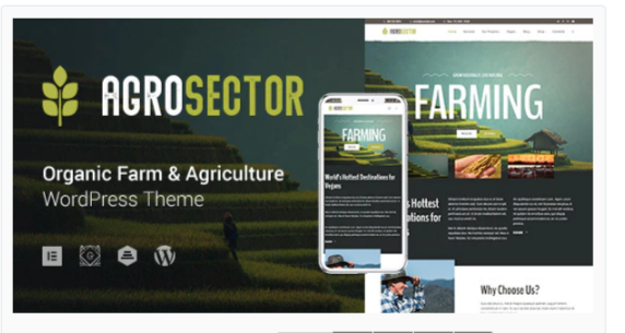Download Agrosector – Agriculture & Organic Food Nulled