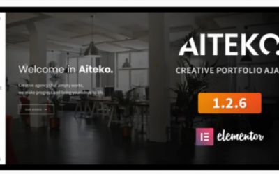 You are downloading Aiteko - Creative Portfolio Ajax Elementor WordPress Theme Nulled whose current version has been getting more updates nowadays,