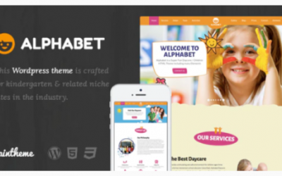 you are downloading Alphabet - Kids, Children WordPress Theme Nulled whose current version has been getting more updates nowadays,