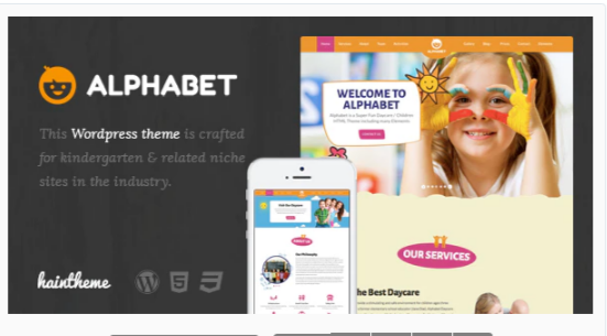 You are downloading Alphabet - Kids, Children WordPress Theme Nulled whose current version has been getting more updates nowadays, so, please
