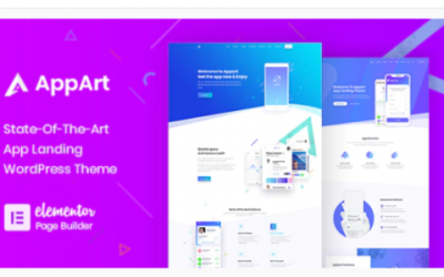 You are downloading AppArt - Creative WordPress Theme For Apps, Saas & Software Nulled whose current version has been getting more updates nowadays,