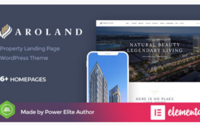 You are downloading Aroland - Single Property Landing Page WordPress Theme Nulled whose current version has been getting more updates nowadays,
