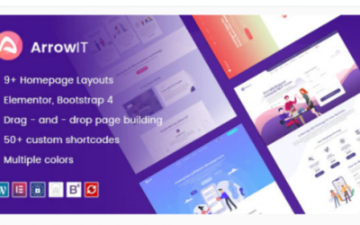 You are downloading ArrowIT - Technology, Digital Transformation WordPress Theme Nulled whose current version has been getting more updates