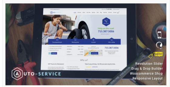 Download Auto Repair – Car Mechanic Services Nulled