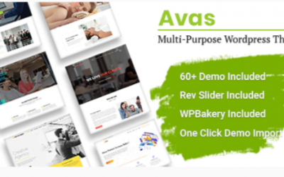You are downloading Avas | Multi-Purpose WordPress Theme Nulled whose current version has been getting more updates nowadays, so, please keep visiting
