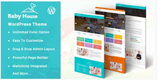 Download Baby House – Kids School WordPress Theme Nulled