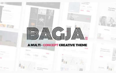 You are downloading Bagja - Responsive Multi Concept & One Page Portfolio Theme Nulled whose current version has been getting more updates nowadays,