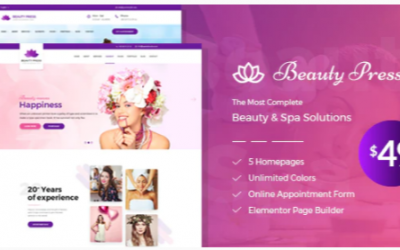 You are downloading eauty Salon Spa WordPress Theme - BeautyPress Nulled whose current version has been getting more updates nowadays, so, please